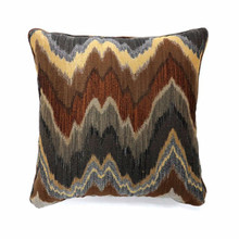 Seismy Contemporary Pillow, Multicolor, Set of 2 , Small