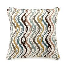 Sine Contemporary Pillow, Multicolor, Set of 2, Large