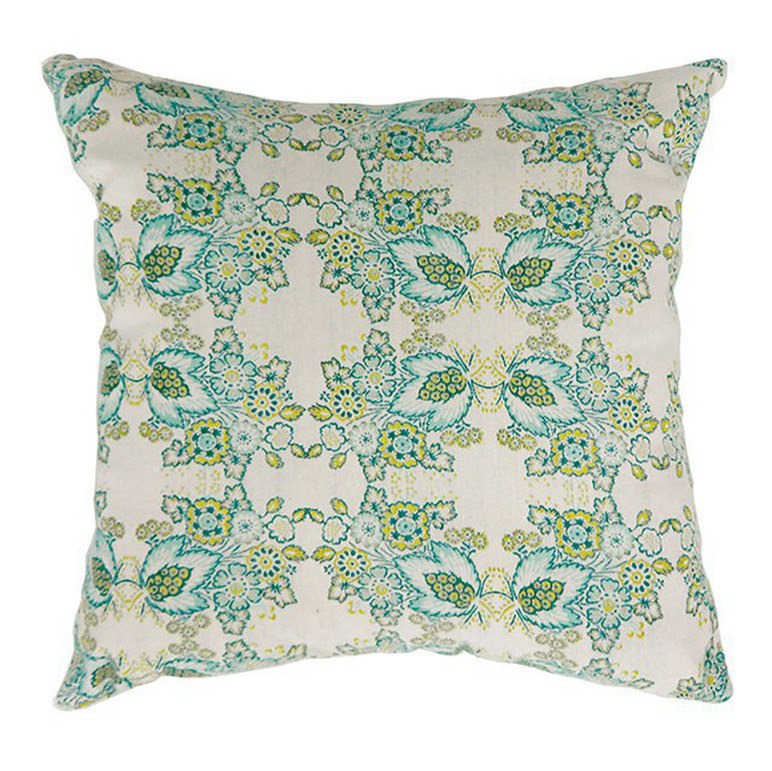 EVA Contemporary Big Pillow With fabric, Multicolor Finish, Set of 2