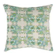 EVA Contemporary Small Pillow With fabric, Multicolor Finish, Set of 2