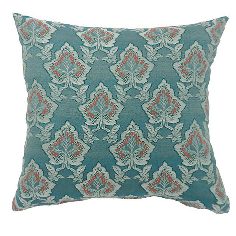 LULU Contemporary Big Pillows With fabric, Multicolor, Set of 2