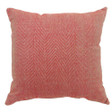 JILL Contemporary Small Pillow, Red Finish, Set of 2