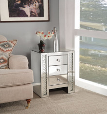 End Table, Mirrored