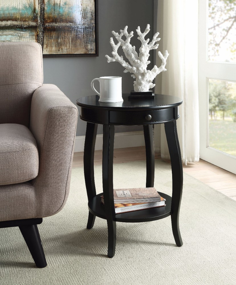 End Table, Black