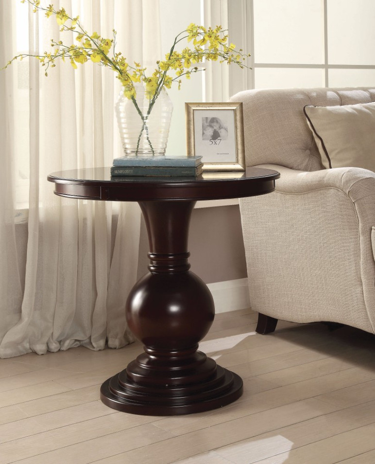 Accent Table, Espresso