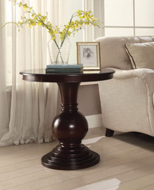 Accent Table, Espresso