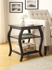 Beautiful End Table, Black