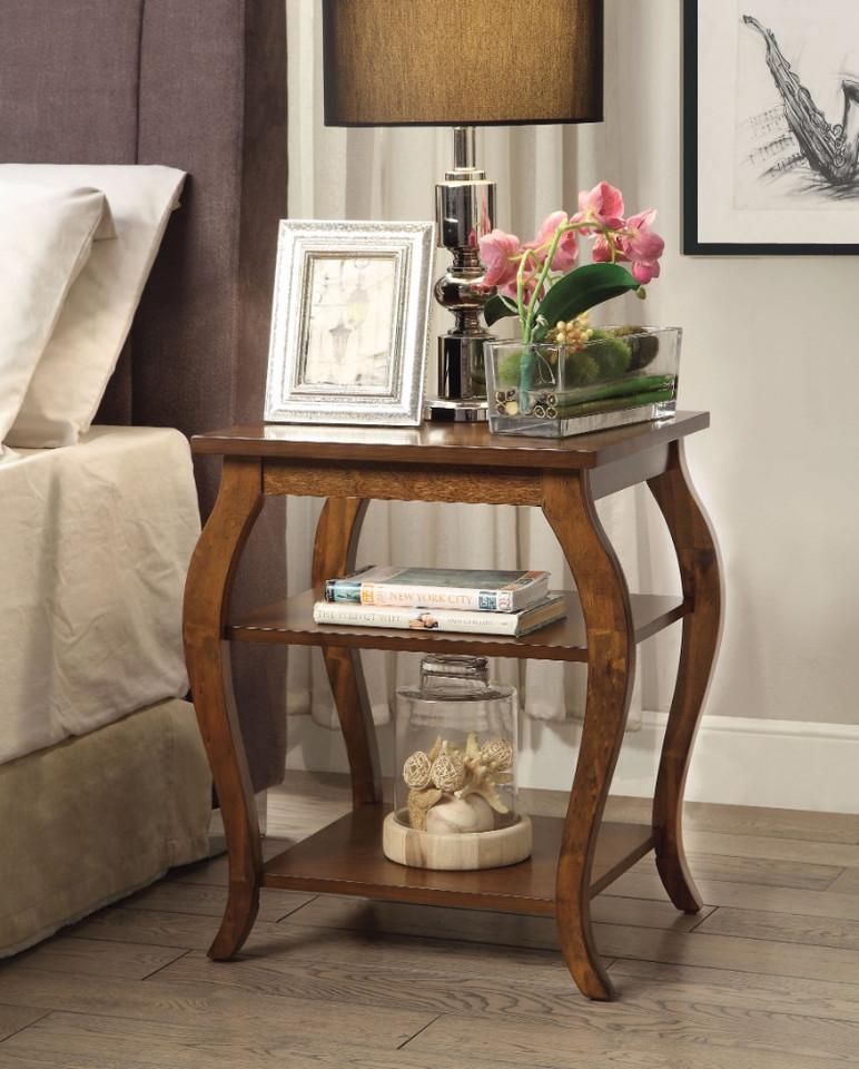 Beautiful End Table, Walnut