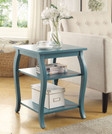 Beautiful End Table, Teal