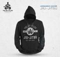 """""""Jiu-Jitsu, The Art of Life""""  Hoodie Black"""