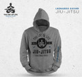 """Jiu-Jitsu, The Art of Life""  Hoodie Grey *AVAILABLE ONLY IN XXL"