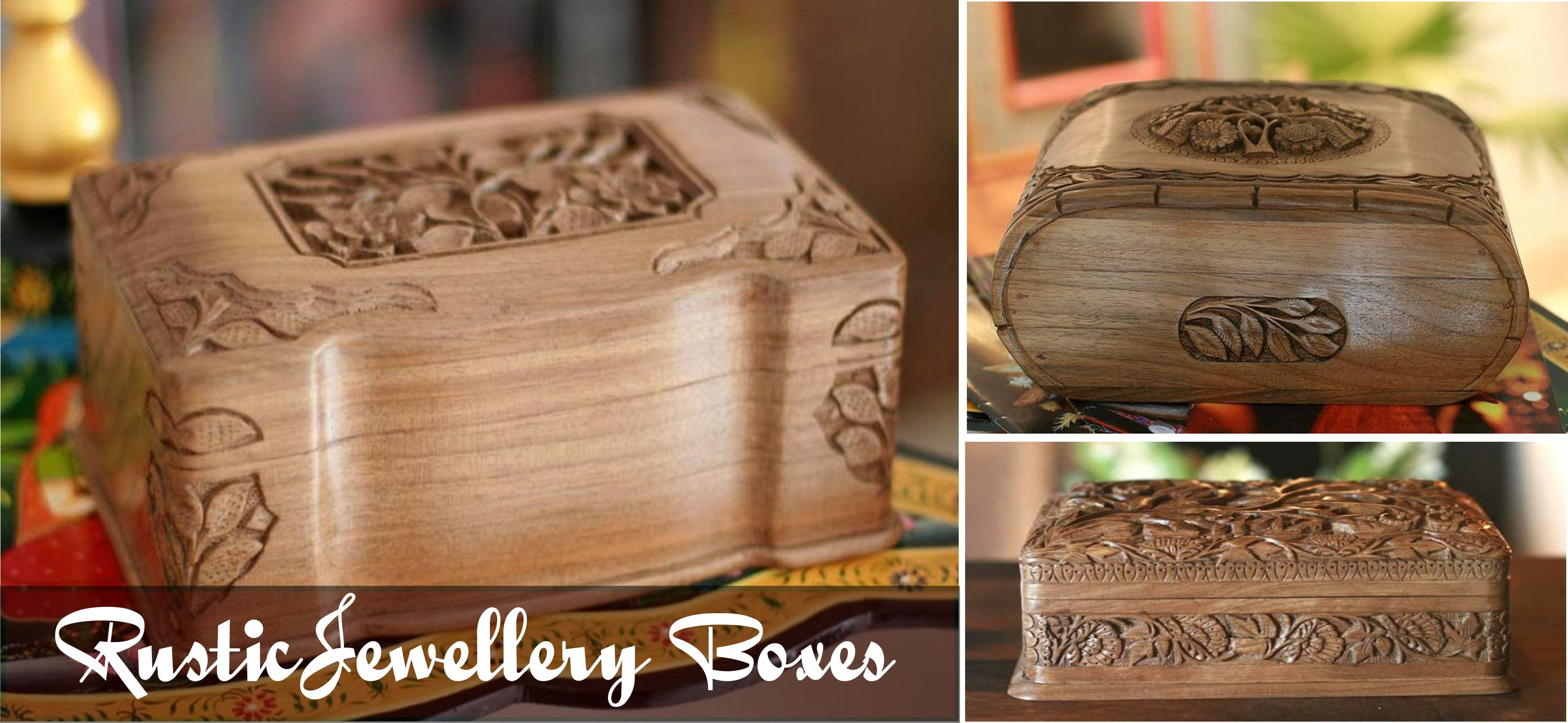 Rustic Jewellery Boxes