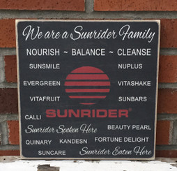 Custom Sunrider Business Sign