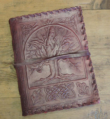 Celtic Leather Journal - Old World Style