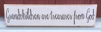 Grandchildren are treasures from God