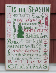 Handmade Christmas Sign