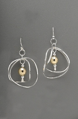 Thomas Kuhner Double Wave Earrings