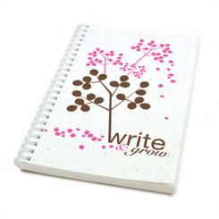 Plantable Seed Paper Journal - Pink Berries