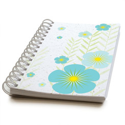 Botanical Paperworks Plantable Seed Paper Journal - Bright Bouquet