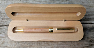 Rosewood Pen with Case - Engravable