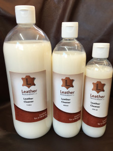 LRC's Leather Cleaner is a cream consistency pH balanced cleanser designed to lift dirt and soil out of the grain of finished or unfinished leather. The difference is in the application. It can be applied directly on to finished leather, or on to a damp scrubber or exfoliating glove first before use on unfinished leathers. With a pleasant fragrance and moisturisers to maintain finish coat softness, this cleaner will lift most minor dye transfer issues. In combination with a soft scrubber or brush, this cleaner will remove all dirt that is feasible to clean off your leather. Developed for moderately soiled leather.