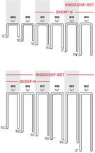 """Senco N21BGBN 2"""" 16 Ga. 7/16"""" Crown Stainless Steel Staples"""