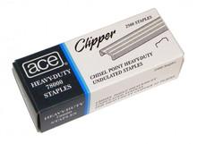 Ace Clipper 78000 Heavy Duty Undulated Staples - 2,500 per Box