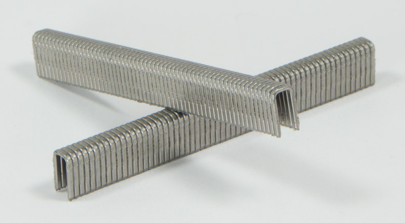"Spotnails 4810PS 18 Gauge 1-1//4/"" Leg x 1//4/"" Narrow Crown Stainless Steel Staples"