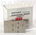 "1-1/2"" 23 Gauge Headless Pin Nails - Spotnails 23024 - 10,000 per Box"