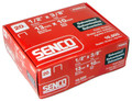 "Senco F06BAA 3/8"" Length 20 Gauge Galvanized Staples - 10,000 per Box"