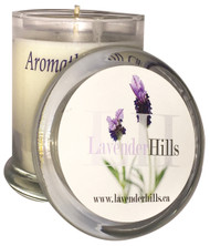 Lavender Soy Candle with Lid 8oz