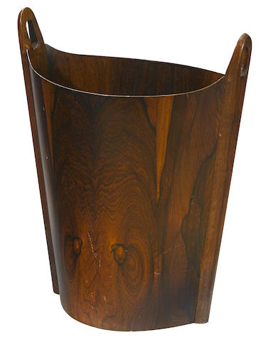 He Designed Two Wastepaper Baskets In Wood The Oval And Rondo That Became Icons Of 60s Design This Is Version From 1965