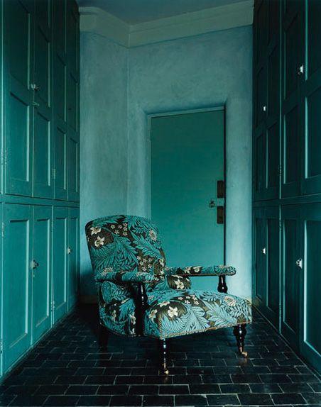 Blue William Morris Furniture