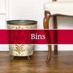 Boutique Hotel Waste Paper Bins Baskets