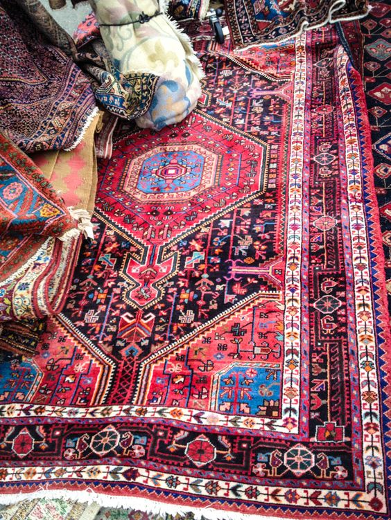 Eastern Inspired Decor Rug   Must Have Bins