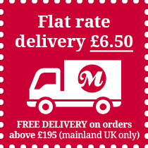 Flat Rate Delivery £6.50 for orders above £195