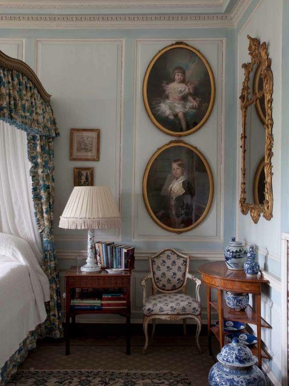 Luxurious English Country House Interior Design Ideas