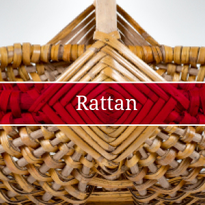 Rattan Waste Paper Bins Baskets
