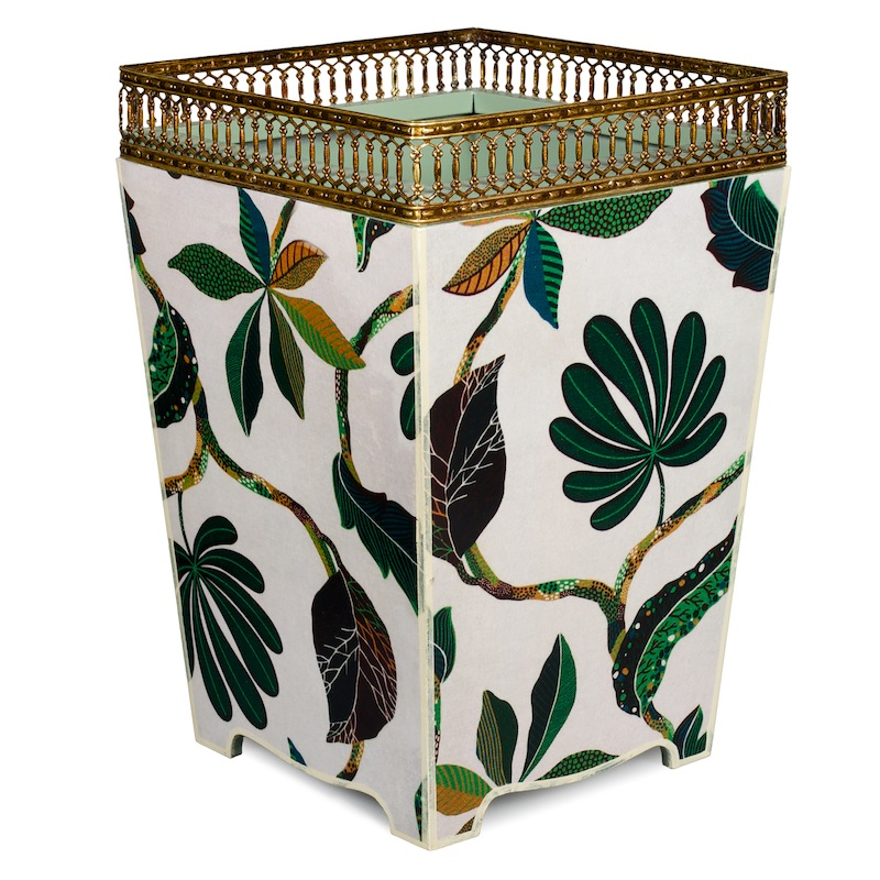 Pretty Green Waste Paper Bin Basket | Must-Have Bins
