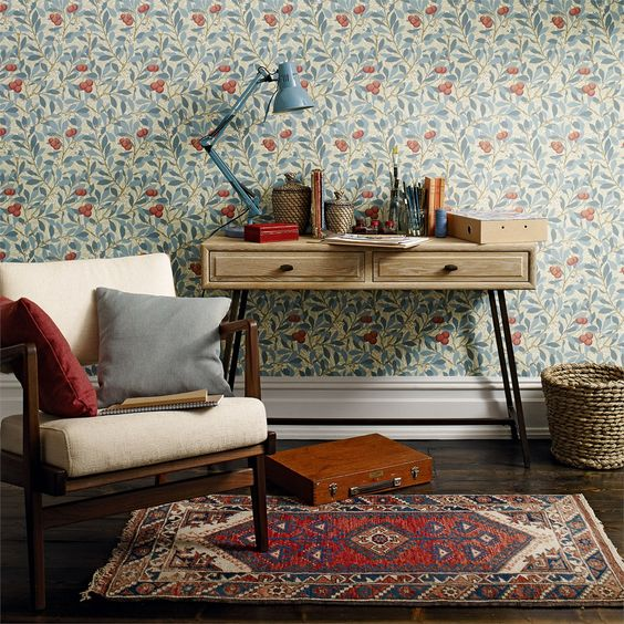 William Morris Pattern Home Decor   Must Have Bins