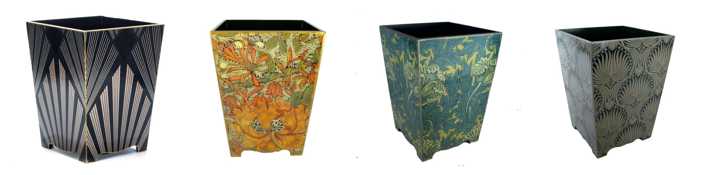 William Morris Design Room Decor Waste Paper Bin Basket
