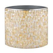 Mother of Pearl Inlay Waste Paper Bin