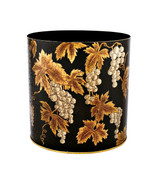 Black Grapevine Waste Paper Bin (no handles)