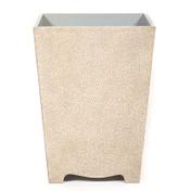 Stone White Galuchat Waste Paper Bin- Sale