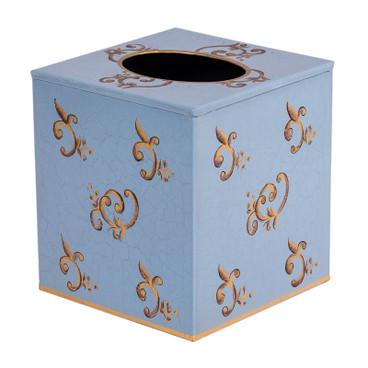 Eastern Swirl Tissue Box Cover