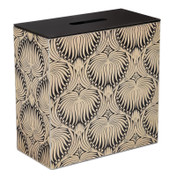 Double Bathroom Storage / Tidy Box - Silver Morris Palm