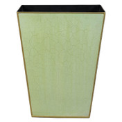 Plain Pastel Waste Paper Bin - Green