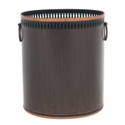 Russet Waste Paper Bin - Dark brown