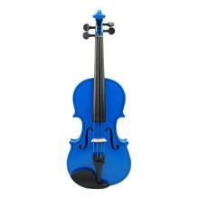 Blue Handmade Violin VN100-BU