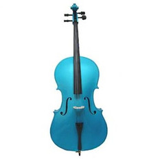 Handcrafted Bright Blue Cello MC100-BB